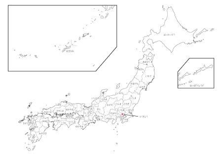 ひらがな日本地図 [ジャッカ ...
